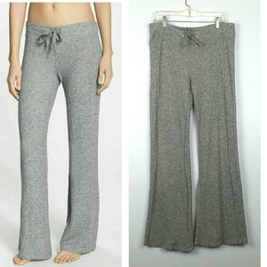 Zella Sequence Gray Marled Flare Sweatpants